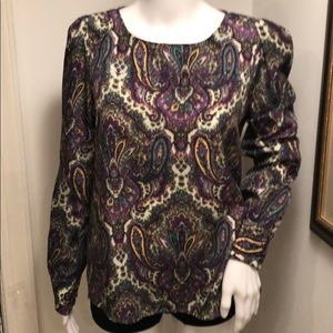 J. CREW BLOUSE SIZE SMALL STYLE  PASLEY